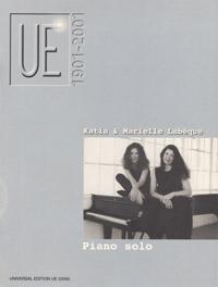 Katia und Marielle Labèque - Piano solo Band 1 image